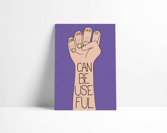 Controversy Can Be Useful - A5 Art Print