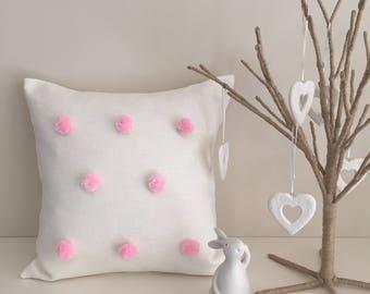 FUN BEDHEADS Stunning Pom Pom Cushions