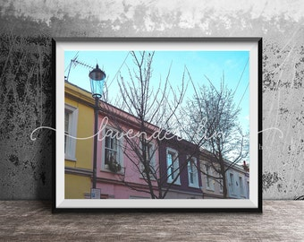 HELLO PORTOBELLO, Colour Photography Print, London, Street Photography, Cityscape, Wanderlust, Home Decor, Wall Art