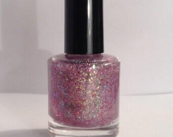 Glinda - Wizard of Oz Inspired Collection / Handmade Custom Nail Polish / Glitter Polish