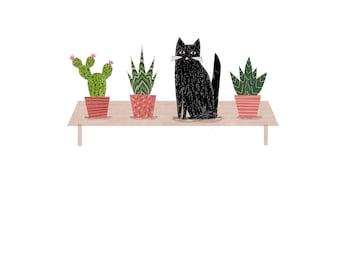 Cactus, Cactus, Cat, Cactus!
