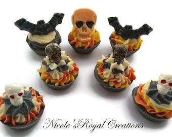Halloween soap, decor soap, soap cupcakes, Halloween cupcake soap, sapone, cupcake soap, gift soap, Halloween soap cupcake, handmade soap