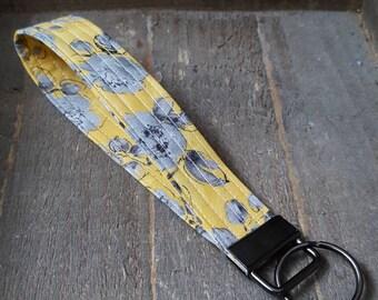 Fabric Key Chain Wristlet