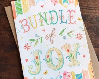 Bundle of Joy - Greeting Card