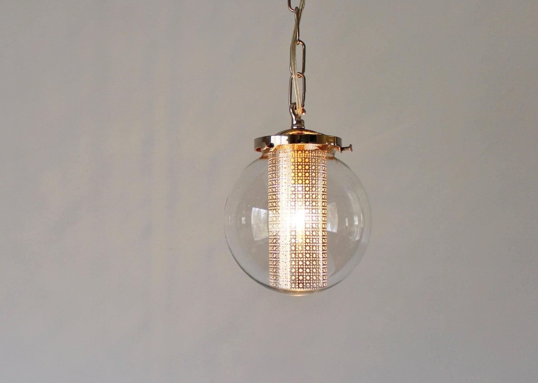 Globe pendant light modern hanging pendant lamp clear glass zoom arubaitofo Choice Image
