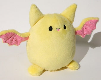 Yellow Bat Plush
