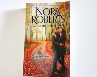 Whispered Promises by Nora Roberts  Paperback  Romance