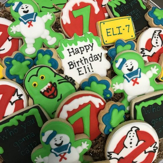 Ghostbuster Cookies