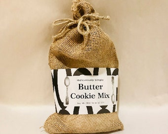 Butter Cookie Mix - Burlap Bag