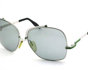 Silhouette silver metal Sunglasses Original Vintage