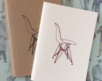 Eames Molded Plastic Chair Illustration Note Card