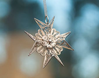 Filigree Star Necklace