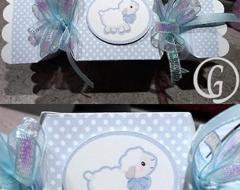 Baby Lamb Favor Box