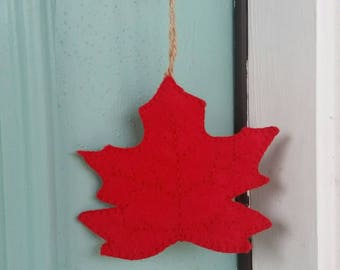 Maple Leaf Ornament