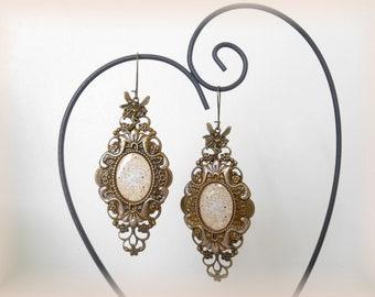 Vintage fairy earrings