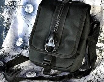 Cryoflesh Industrial Cybergoth Cyberpunk ShoulderEDM EDC  Bag Purse
