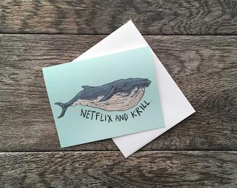 Netflix and Krill Card