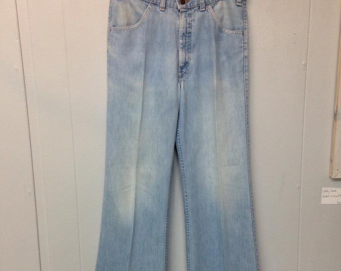 1970 Levi's Wide leg Jeans