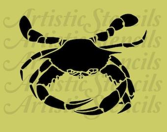 Crab STENCIL 10x8