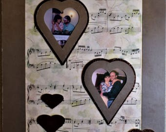 Wedding or Valentine Our Song Personalized Wedding Photo Gift Anniversary Gift Valentine Gift