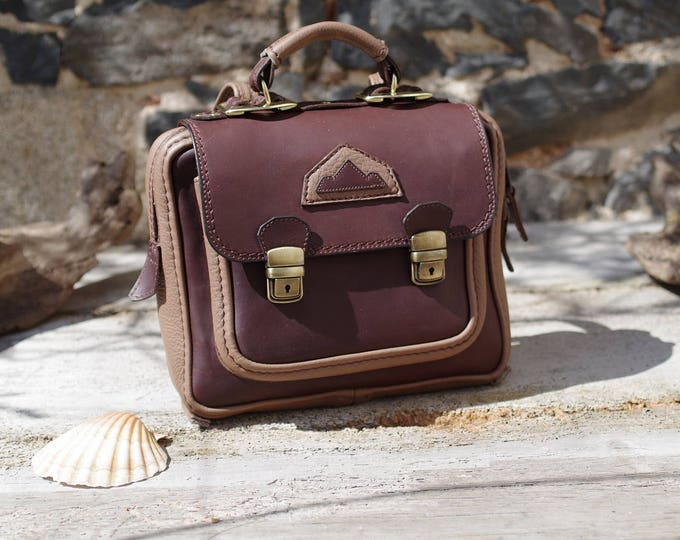 Mini backpack, Briefcase, suitcase, Briefcase