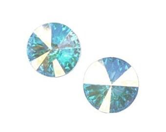12mm Rivolis CRYSTAL AB Swarovski Rivoli Stones Article 1122 12mm Crystal Aurora Borealis Swarovski Crystal Rivolis Wedding Supplies