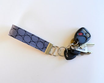 Key Chain Stone Huevos Fabric Key Fob