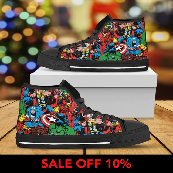 High Custom Avengers Custom War Avengers War Shoes Converse Avengers Top Infinity Converse Infinity Sneaker Custom Shoes War Infinity 5vtSqzwH