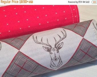 CLEARANCE Burp Cloth ~ Geometric//Nature//Tribal//Native//Woodland//Stag//Buck//Deer