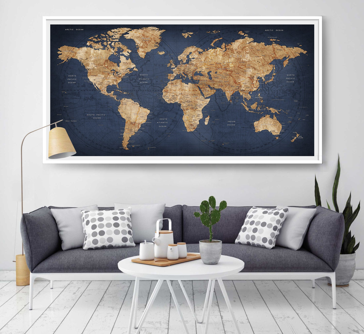 Decor World: World Map Push Pin Large World Map Abstract World Map