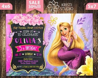 Rapunzel party Etsy