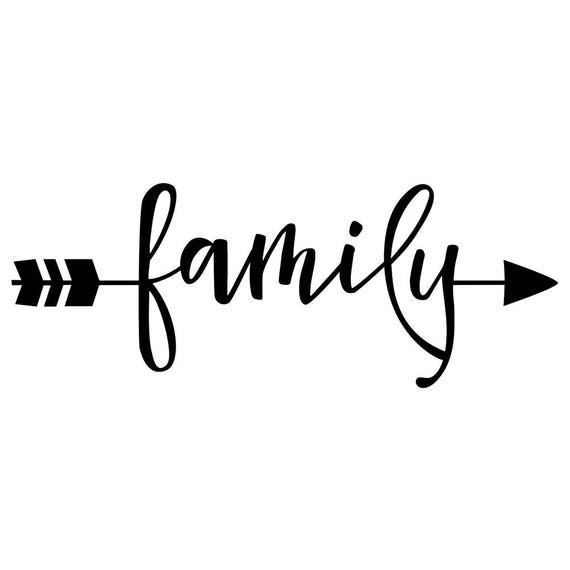 1000 Images About Srt Family On Pinterest: Family Arrow Decal Family Decal Decal For Mom Window