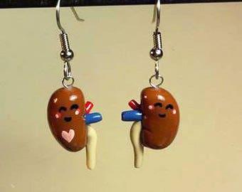 Kidney donor Earrings