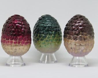 Game of Thrones Dragon Eggs - Drogon, Rhaegal, and Viserion