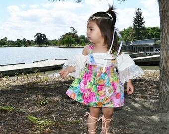 Baby Suspender Skirt, Girls Suspender Skirt, Roddler Suspender Skirt, Baby Skirt, High Waist Toddler Skirt, Hi Waist Baby Skirt, Girls Skirt