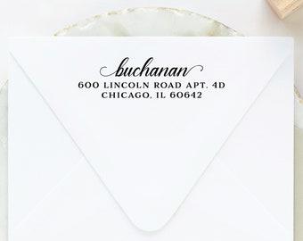 Self Inking Return Address Stamp, Self Ink Custom Address Stamp, Personalized Address Stamp, Wedding Address Stamp, Housewarming Gift