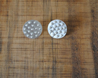 Gorgeous large Dotty stud earrings