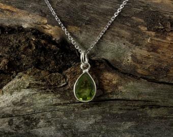Peridot Spirit Stone Necklace