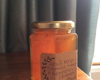 Orange marmalade with brandy