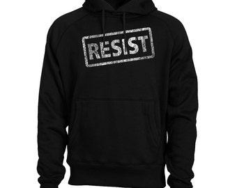 Resist Hoodie Anti-Trump Political Men's Hoodie