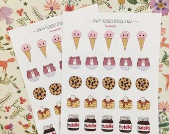 Kawaii Sweets Stickers