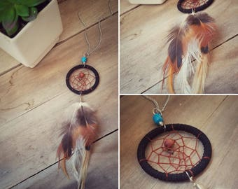 Black Dream Catcher Necklace | Dream Catcher | Necklace | Gypsy Style