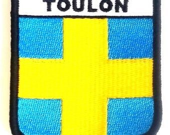 Toulon Embroidered Patch