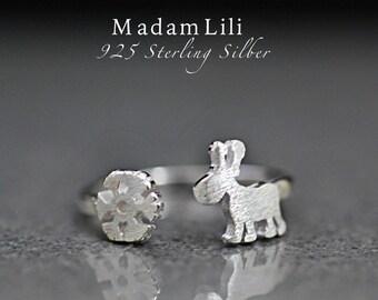925 sterling silver ring CHRISTMAS (RG925-19)