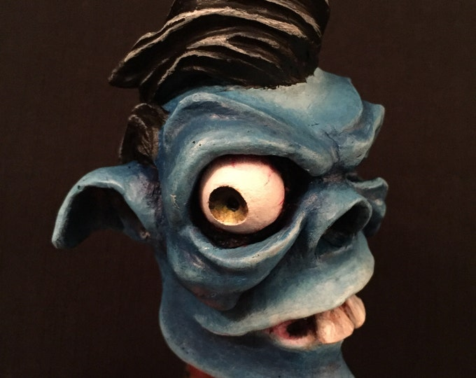 Greaser Demon Shiftknob (Blue)