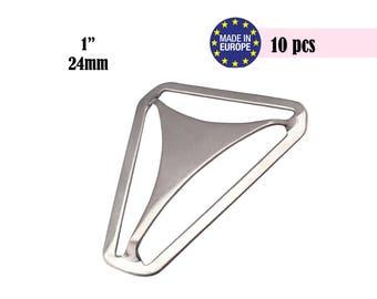 10 Suspender Parts, Suspender Hardware, Triangle Adjuster, Triangle Back, Suspender Supplies, DIY Suspenders, Boy Suspenders #297005