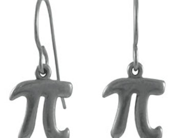 Pi Earrings - LT598- Math Teacher Gifts- Pi Day Accessories