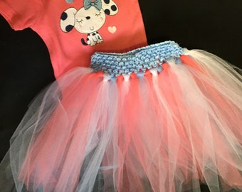 Infant Girl OneZ and Tutu Skirt Set in 0-3 Month