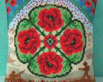 Remembrance Mini Cushion Cross Stitch Kit