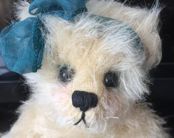 """Artist Bear """"Carli"""" by Nita Schwenn ~ Adorable OOAK Mohair ~ Rare Unitabear Collectible"""
